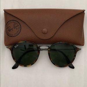 Authentic Blaze round RayBan sunglasses